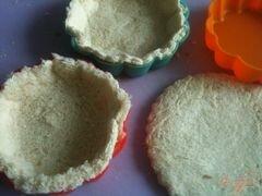 «Хлебные корзиночки со свекольным салатом» - приготовления блюда - шаг 2