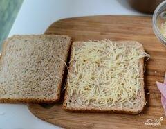 """«Французские тосты """"Крок-месье""""» - приготовления блюда - шаг 3"""