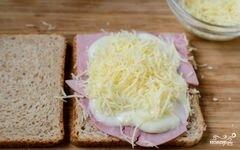 """«Французские тосты """"Крок-месье""""» - приготовления блюда - шаг 5"""