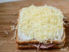 """«Французские тосты """"Крок-месье""""» - приготовления блюда - шаг 6"""