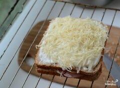 """«Французские тосты """"Крок-месье""""» - приготовления блюда - шаг 7"""