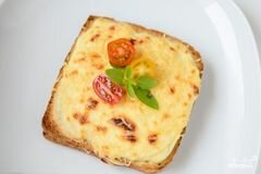 """«Французские тосты """"Крок-месье""""» - приготовления блюда - шаг 8"""