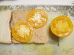 «Сэндвич с мясным паштетом» - приготовления блюда - шаг 3
