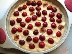 «Пирог с черешней» - приготовления блюда - шаг 6
