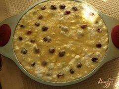 «Пирог с черешней» - приготовления блюда - шаг 7