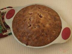 «Пирог с черешней» - приготовления блюда - шаг 8