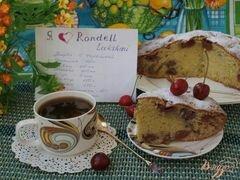 «Пирог с черешней» - приготовления блюда - шаг 9
