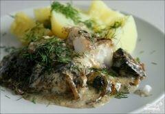 «Рыба по-украински» - приготовления блюда - шаг 9