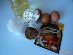 «Шоколадный кекс в мультиварке» - приготовления блюда - шаг 1