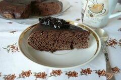 «Шоколадный кекс в мультиварке» - приготовления блюда - шаг 6