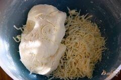 «Пирог с карамелизированными баклажанами» - приготовления блюда - шаг 2