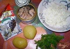 «Студенческие котлеты» - приготовления блюда - шаг 1