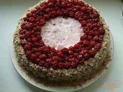 «Торт из пряников с ягодами» - приготовления блюда - шаг 7
