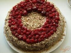 «Торт из пряников с ягодами» - приготовления блюда - шаг 8
