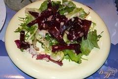 «Свекольный салат» - приготовления блюда - шаг 4