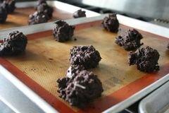 «Шоколадно-мятное печенье» - приготовления блюда - шаг 8