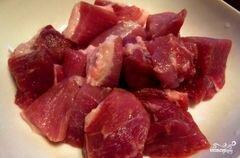 «Говядина с гречкой в горшочке» - приготовления блюда - шаг 1