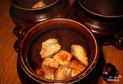 «Говядина с гречкой в горшочке» - приготовления блюда - шаг 3