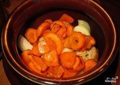 «Говядина с гречкой в горшочке» - приготовления блюда - шаг 6