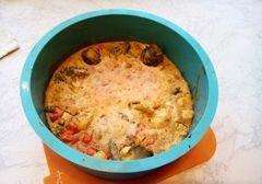 «Вегетарианский овощной пирог» - приготовления блюда - шаг 8