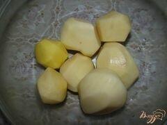 «Картофель с салом» - приготовления блюда - шаг 1