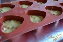 «Закусочные кексики с сыром и ветчиной» - приготовления блюда - шаг 4