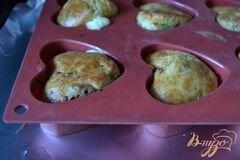 «Закусочные кексики с сыром и ветчиной» - приготовления блюда - шаг 5