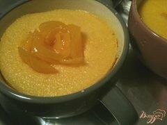 «Персиковый воздушный манник» - приготовления блюда - шаг 4