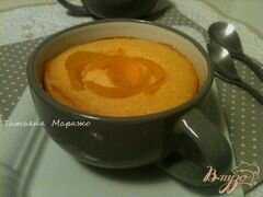 «Персиковый воздушный манник» - приготовления блюда - шаг 5