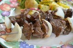 «Кебаб с итальянским вкусом» - приготовления блюда - шаг 4