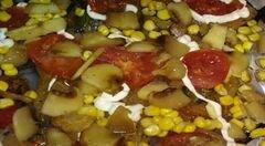 «Куриное филе по-европейски» - приготовления блюда - шаг 6