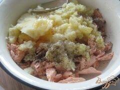 «Котлеты из семги от Джейми Оливера» - приготовления блюда - шаг 3