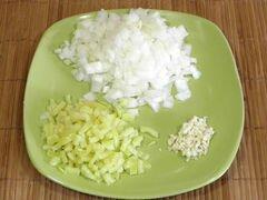 «Суп-пюре из чечевицы» - приготовления блюда - шаг 1
