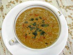 «Суп-пюре из чечевицы» - приготовления блюда - шаг 8
