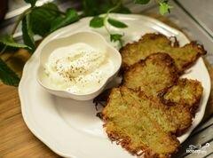 «Картофельные блины» - приготовления блюда - шаг 6