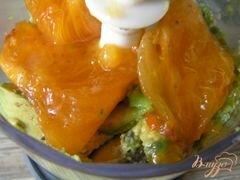 «Крем-мусс из авокадо и хурмы» - приготовления блюда - шаг 1