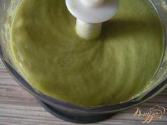«Крем-мусс из авокадо и хурмы» - приготовления блюда - шаг 2