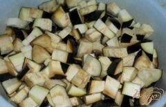 «Салат из баклажанов и перца» - приготовления блюда - шаг 1