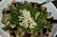 «Салат из баклажанов и перца» - приготовления блюда - шаг 2