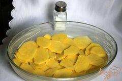 «Гратин из картофеля с куриным рагу под миндальной корочкой» - приготовления блюда - шаг 6