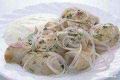 «Грузди соленые со сметаной» - приготовления блюда - шаг 5
