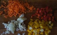 «Быстрый суп с фрикадельками и фасолью» - приготовления блюда - шаг 2