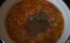 «Быстрый суп с фрикадельками и фасолью» - приготовления блюда - шаг 4