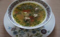 «Быстрый суп с фрикадельками и фасолью» - приготовления блюда - шаг 5