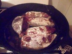 «Печень по-берлински» - приготовления блюда - шаг 4