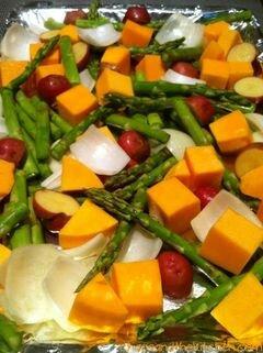 «Жаркое из курицы с овощами и приправами» - приготовления блюда - шаг 4
