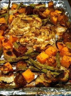«Жаркое из курицы с овощами и приправами» - приготовления блюда - шаг 6