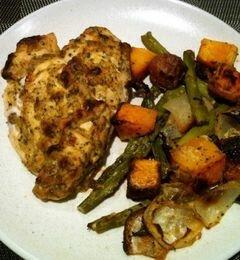 «Жаркое из курицы с овощами и приправами» - приготовления блюда - шаг 7