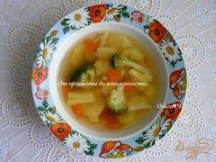 «Овощной суп с брокколи» - приготовления блюда - шаг 5