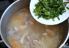 «Суп с рисом и картошкой» - приготовления блюда - шаг 12